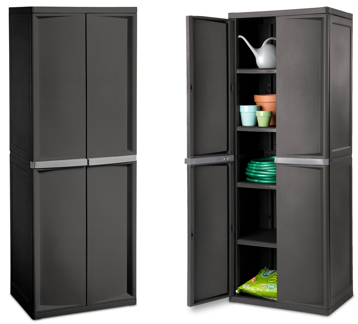 Sterilite Storage Cabinets, Sterilite Storage Cabinets With Doors And Shelves
