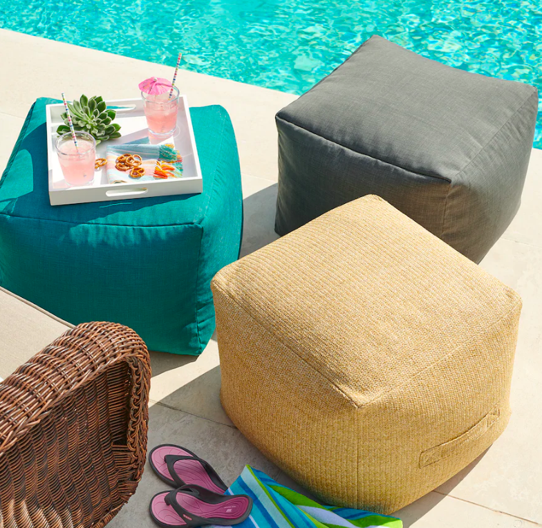 kohls-sonoma-indoor-outdoor-pouf-2020-stock-image