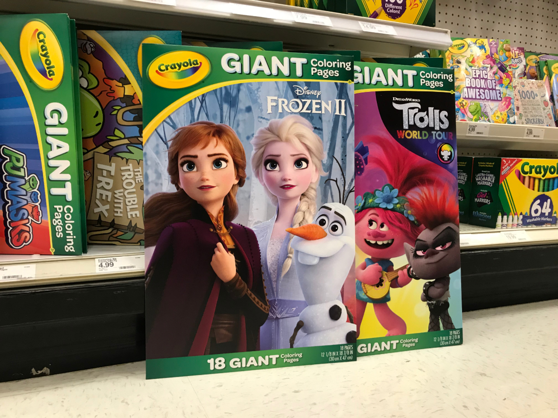 50% Off Crayola Coloring & Activity Books at Target - The ...
